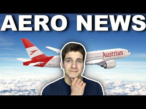 DAS ist die neue AUSTRIAN-Bemalung! AeroNews