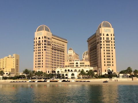 St. Regis, Doha. Astor room with terrace.
