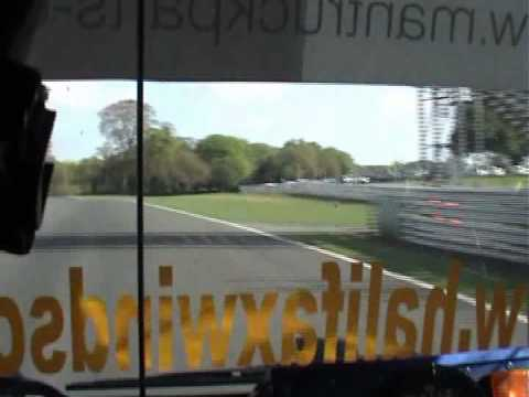Richard Collett Oulton Park Truck Racing Demo