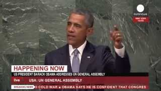 LIVE : Obama addresses 70th session of the General Assembly