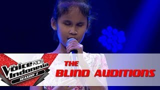 ZiziMimpiThe Blind Auditions The Voice Kids Indonesia Season 2 GTV 2017