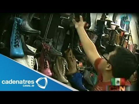 Feria del calzado en León Guanajuato / Dinero de YouTube · Alta definición · Duración:  1 minutos 8 segundos  · Más de 27.000 vistas · cargado el 16.03.2015 · cargado por Excélsior TV