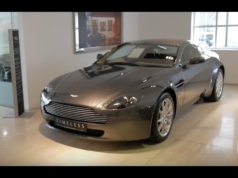 Aston Martin V8 Vantage Exhaust Sound Interior And Exterior Walkaround Youtube