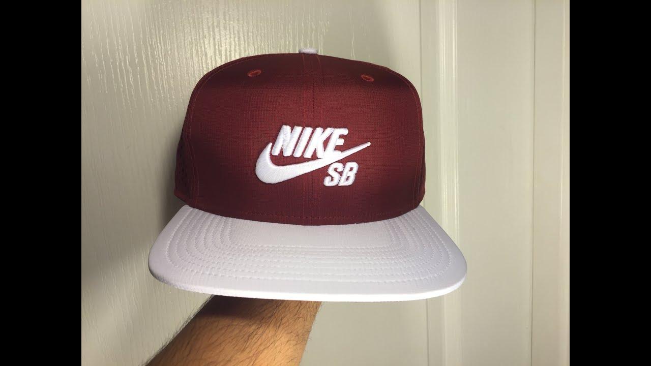 Nike SB Performance Trucker Hat Maroon white - YouTube 6c496573494