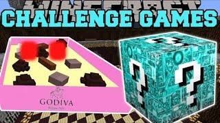 PopularMMOs Pat and Jen Minecraft: BOX OF CHOCOLATES CHALLENGE GAMES - Lucky Block Mod