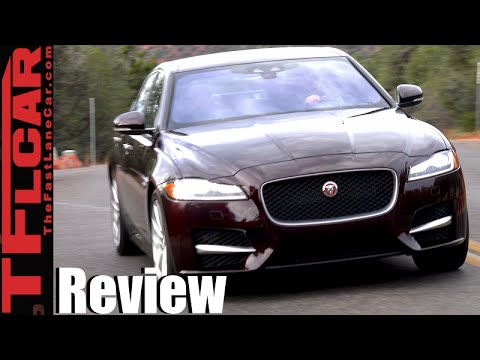 2016 Jaguar XF & XF S First Drive Review: The Un-German Mid-Sized Luxury Sedan