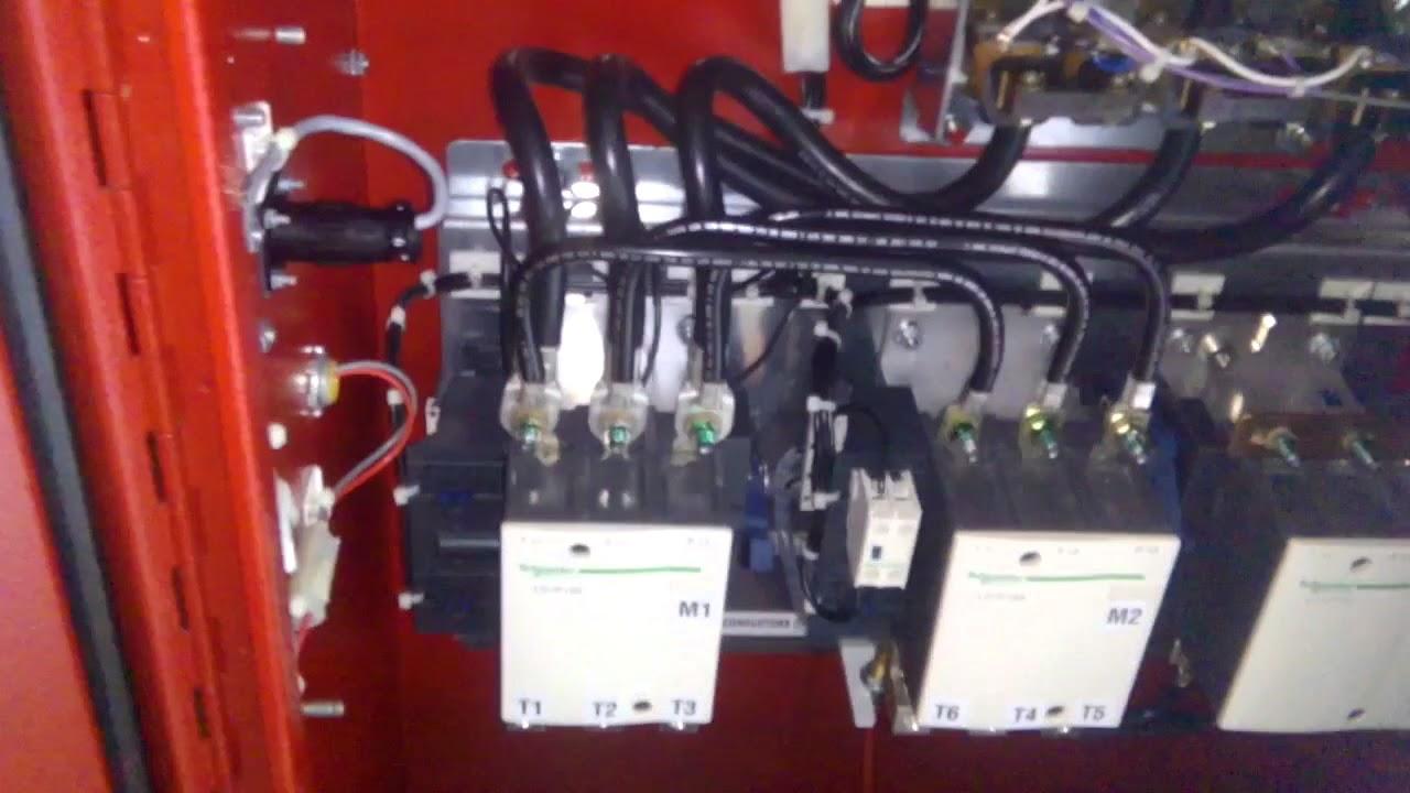 Weg Fire Pump Motor Wiring Diagram Off Grid Pv Star Delta Full Connection Electric Control Youtube