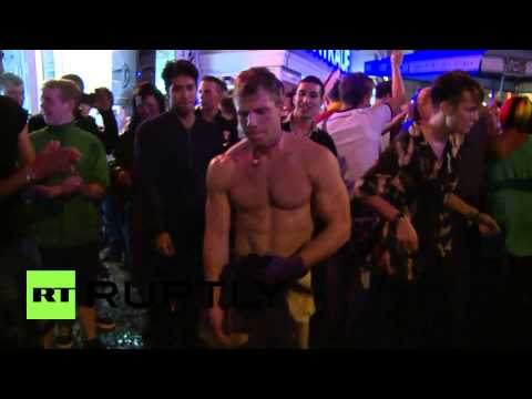 Germany: Berlin World Cup street party rages on