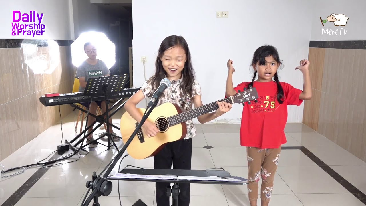 #186 「Khmer」 Daily Worship Live  [22-Jan-2020] - (Ha-Young Ver.9 Years Old)