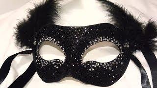 "Masquerade Mask "" Night Sky"" Diy"