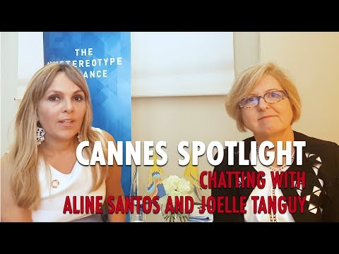 Cannes Spotlight: Chatting With Aline Santos and Joelle Tanguy