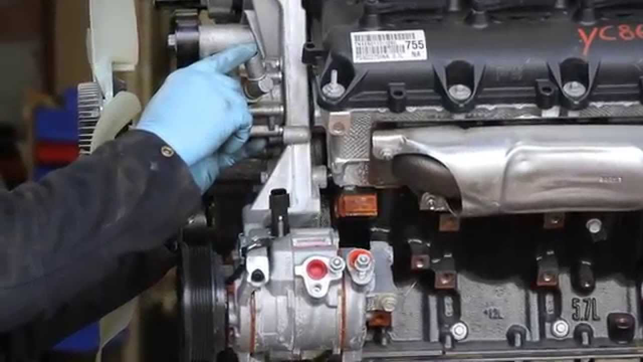 Dodge 5 7 Hemi >> Truck Hemi power steering pump mod, reusing a 3.8L pump ...