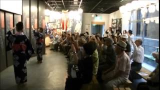"""郡上八幡 盆踊り 郡上おどり かわさき講習  Gujo Hachiman Bon Odori Gujo dance """"Kawasaki"""" training"""