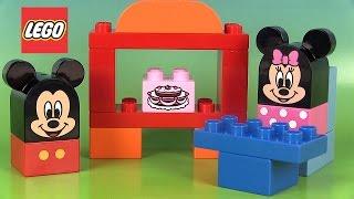 Lego Duplo Mickey Mouse Clubhouse Café Jeu de construction Jouets pour petits