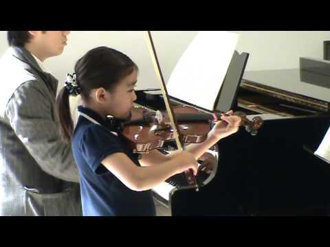 British Royal School Of Music Violin Exam Level III Practice  -- by Ann Zhang