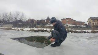 як зробити зимову вудку на окуня