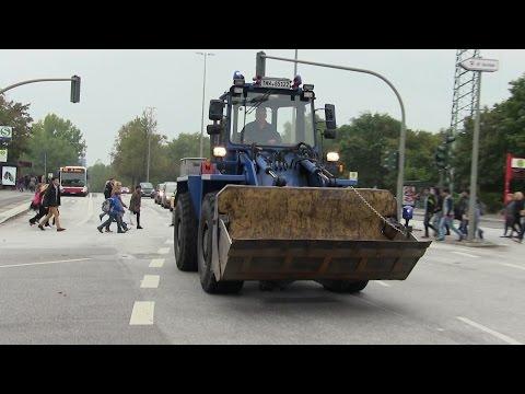Radlader THW OV Hamburg-Nord