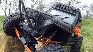 Custom RC Rock Crawler Build. Scratch built(ish) 4x4, 1/6 scale, The Nylint Beast Part 2 (pic & vid)