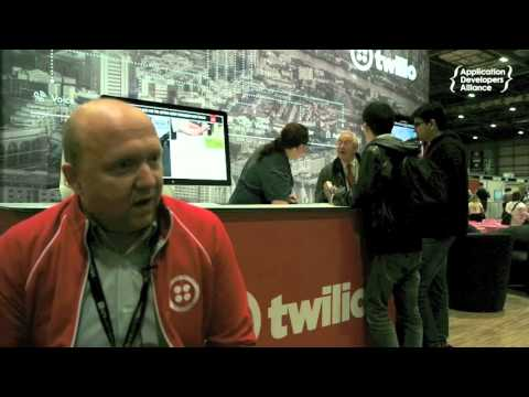 Interview with Simon West, Channel Sales Manager, EMEA, Twilio at Apps World