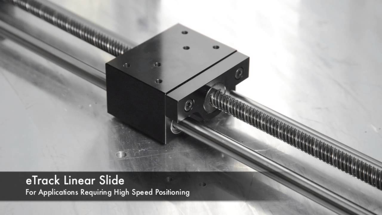 Etrack Linear Slide With Servo Motor Newmark Systems