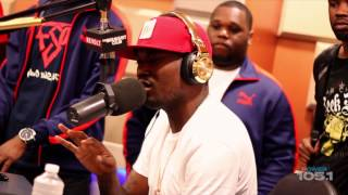 Meek Mill Dropp Bars on DJ Self Show ( Meek Mill Freestyle)