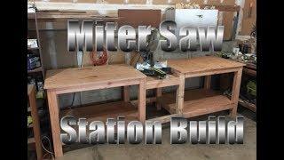 Miter Saw Station Build Pt 1