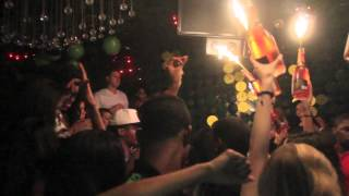 Robin Thicke celebrates his B-DAY at Greenhouse NYC 3-8-2012