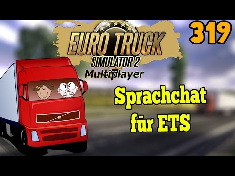 ETS 2 Multiplayer Scandinavia #319 - Ein Sprachchat für ETS ★ LET'S PLAY Euro Truck Simulator MP
