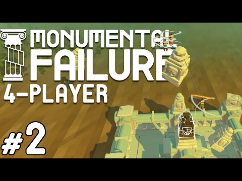 Monumental Failure - #2 - Temple of Salt (4 Player Gameplay)