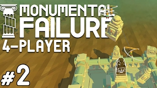 Monumental Failure - #2 - Temple of Salt (4 Player Gameplay)