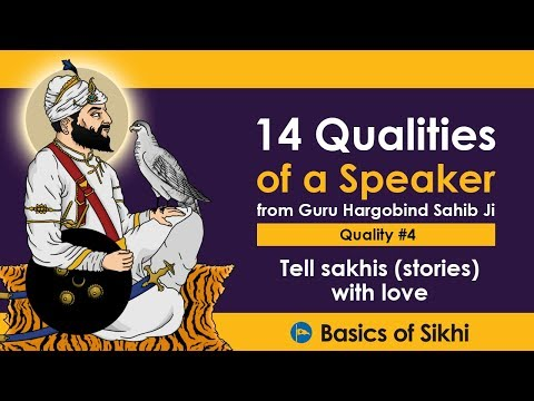 #4 Quality of a Speaker - Tell sakhis (stories) with love [4K]
