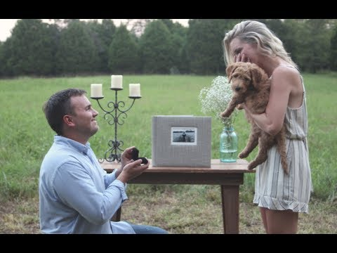 Jack + Leah. The proposal.