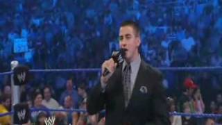 WWE Smackdown 8/7/09 Jeff Hardy vs CM Punk 1/2