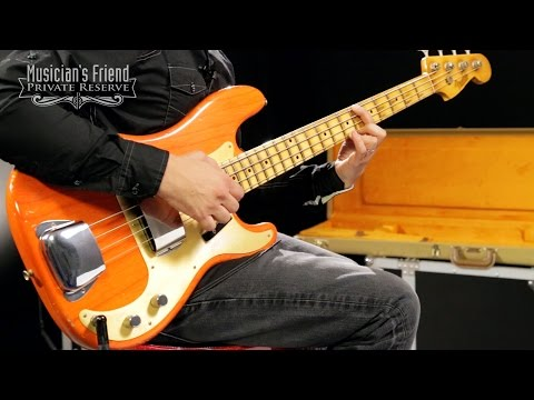 Fender Custom Shop '57 Precision Bass Relic Masterbuilt by John Cruz, Transparent Gretsch Orange