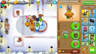 Gambar cover Bloons TD 6 - UPDATED Chimps - No Hero - Winter Park - Black Border (14.0 patch)
