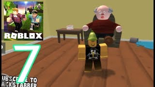 ROBLOX - Gameplay walkthrough part 7 - Escape Grandpas House Obby