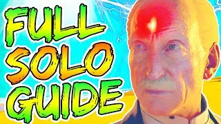 "FULL ""DEAD OF THE NIGHT"" SOLO EASTER EGG GUIDE! // ALL STEPS & BOSS TUTORIAL! // BLACK OPS 4 ZOMBIES"