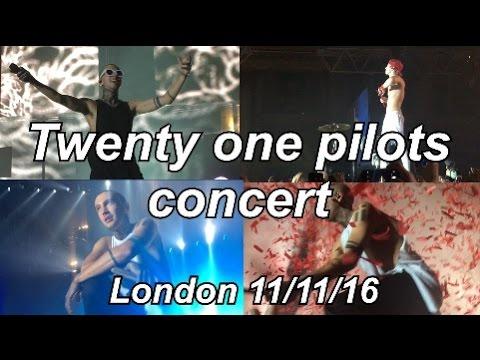 Twenty One Pilots concert - Alexandra Palace London (11/11/16)