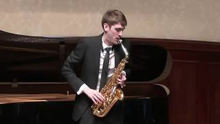 Claude Debussy - Rapsodie, L 98 for alto saxophone and piano