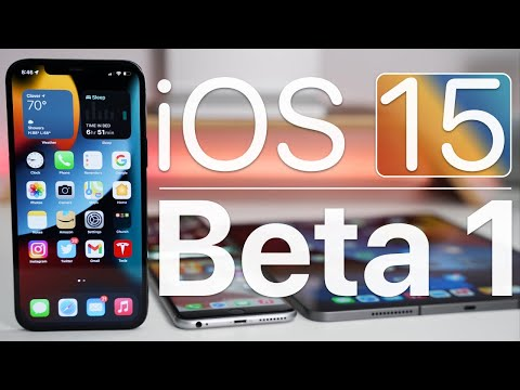 iOS 15 Beta 1 is Out! - What's New?
