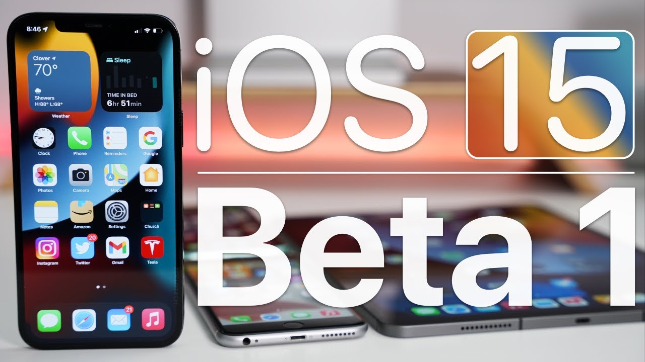 Download iOS 15 Beta 1 is Out! - What's New?