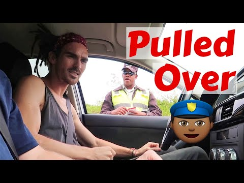 Pulled over by the Dominican Police