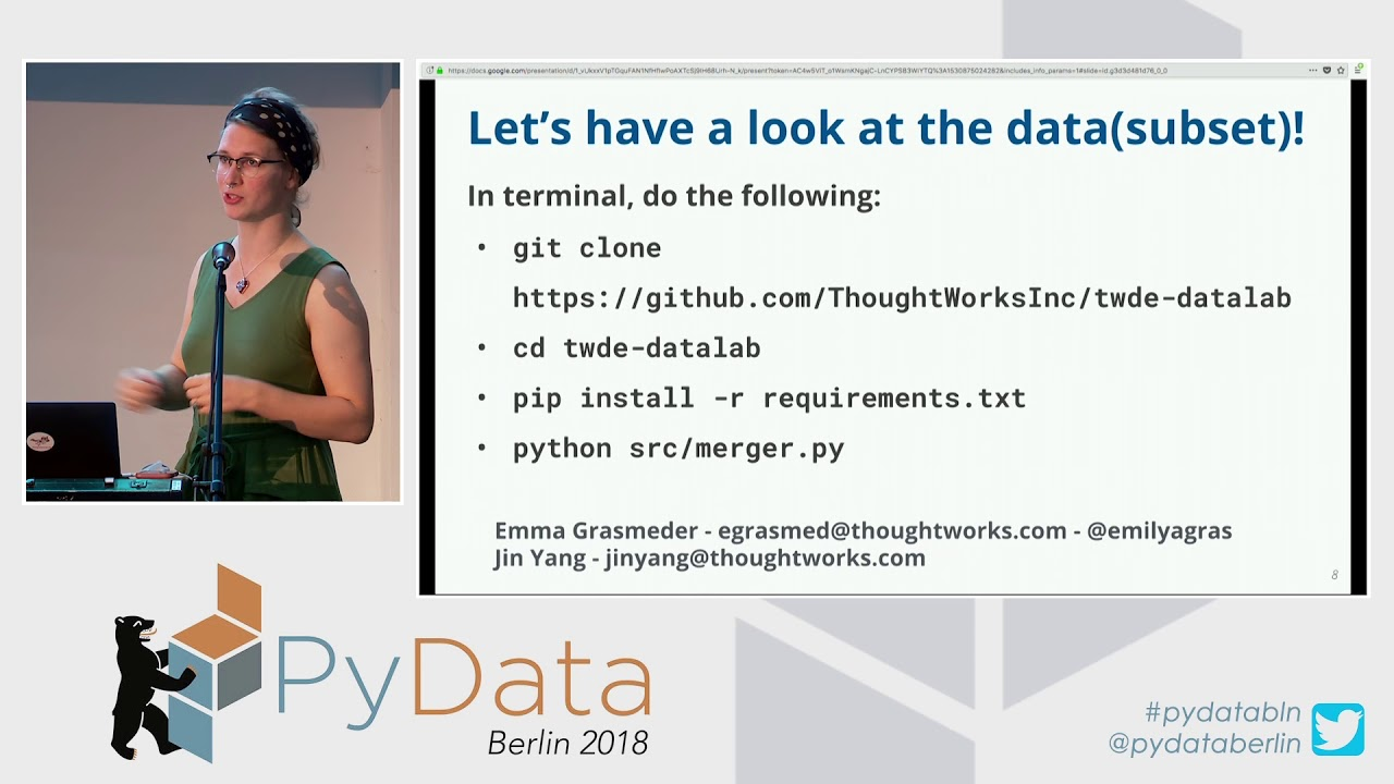 A Hands-On Introduction to Your First Data Science Project - Em Grasmeder,  Jin Yang