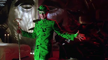 The Riddler visits Two-face | Batman Forever