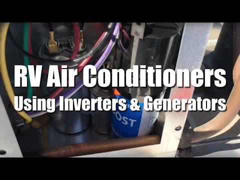 Full Time RV Living | RV Air Conditioner: Hard Start Capacitors, Inverters, & Generators