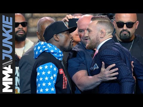Mayweather vs. McGregor World Tour: Los Angeles face-off
