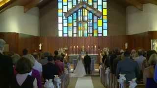 Lauri & Tyler Wedding Highlights - St. Cecilia's, Ashland MA - Charter Oak, Hudson MA
