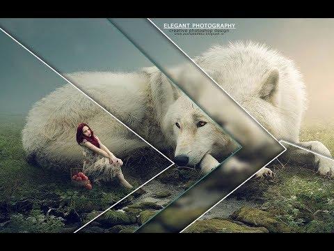 Photoshop tutorial:Elegant creative wallpaper design in photoshop