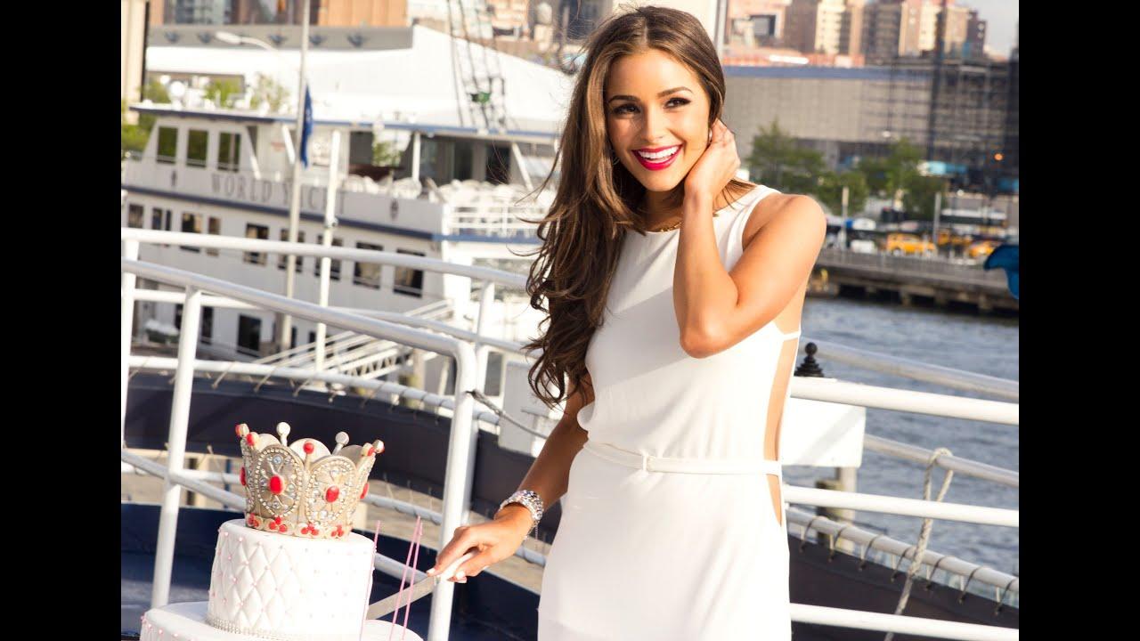 Miss Universe Olivia Culpo Turns 21 Youtube