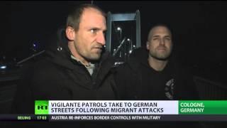 Vigilante patrols take to German streets following migrant attacks